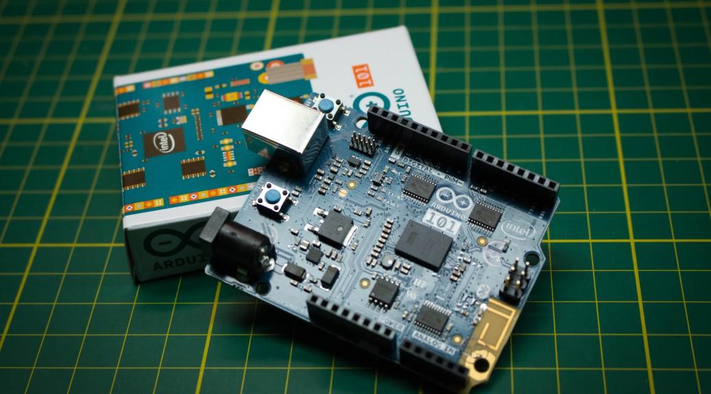 Intel Arduino 101 mkme.org